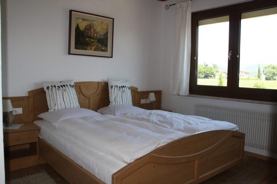 Apartment Rosengarten, Schlafzimmer