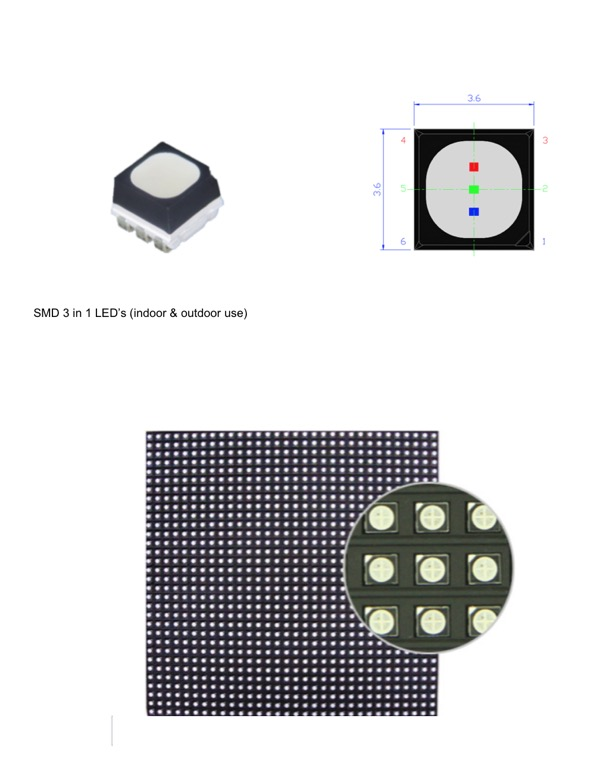 HXTECH SMD LED display screen