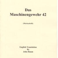 MG-42 Operators Manual H.Dv. 216/6