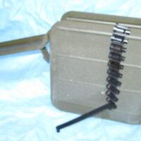 Gorynov SG-43 ammunition belt with can.