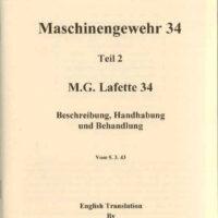 MG34 / Mg42 Lafette manual