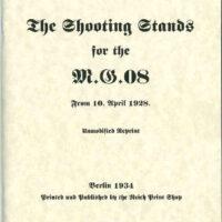 MG08 Shooting Stands (Mounts)