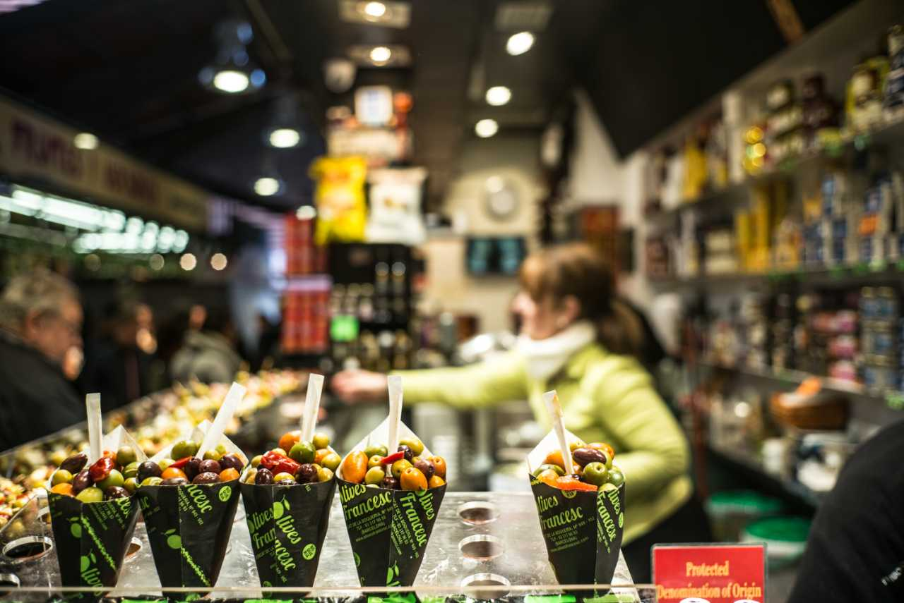 Spanish Oysters, Cava and Ibérico Ham at Barcelona's La Boqueria Market