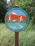 Sign for the Los Gatos Creek Trail