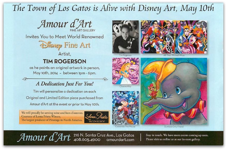 Amour d'Art Gallery event in Los Gatos May 2014