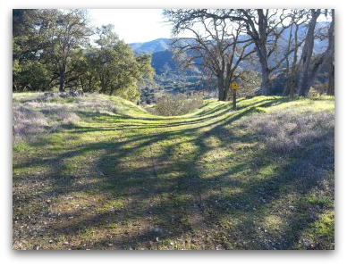 Shannon Valley Ranch open space trail