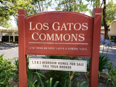 Los Gatos Commons sign