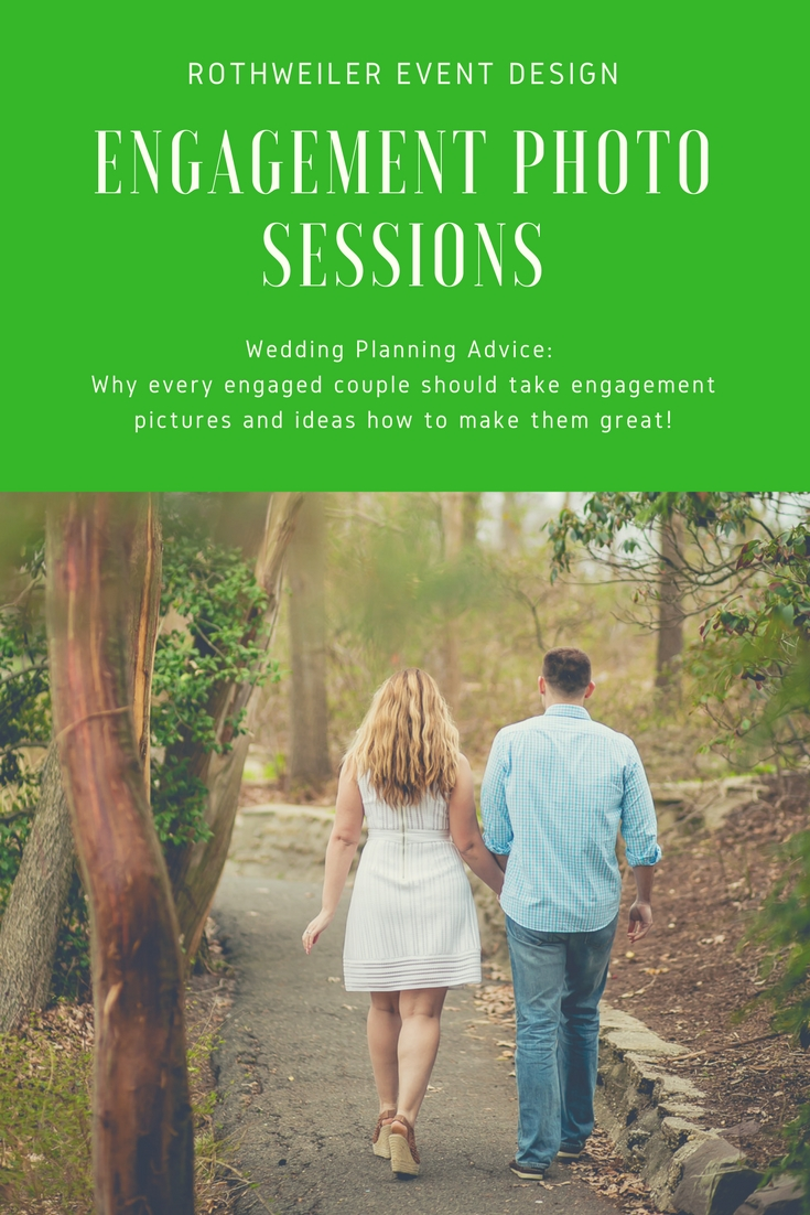 Wedding Planner Tip: It's super important to schedule an engagement session with your photographer before the wedding. Read our blog to hear why this needs to be on your to-do list and get inspiration for your own photos!