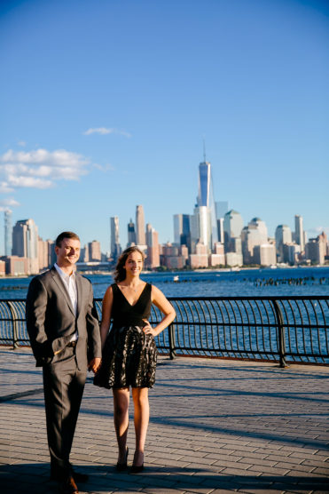 Engagement pictures in NYC