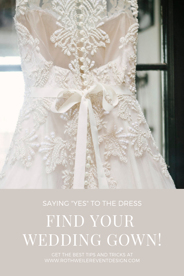 wedding blog cover with wedding gown