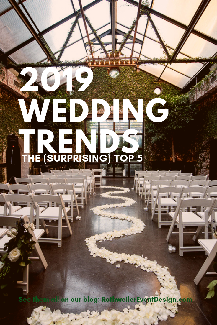 blog cover for 2019 wedding trends