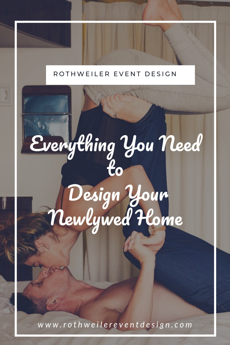 blog cover for blog about home design for newlyweds