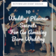 blog cover for blog about barn wedding tips