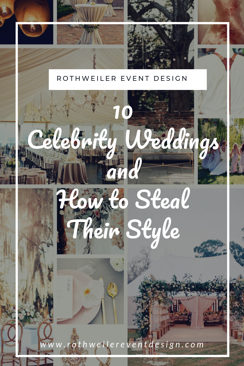 blog cover for blog about 10 celebrity weddings