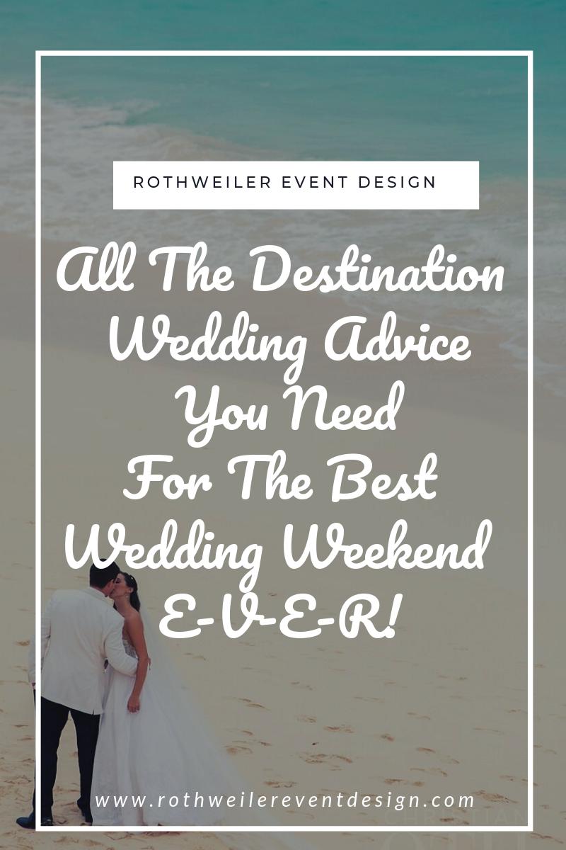 blog cover for blog about destination wedding tips