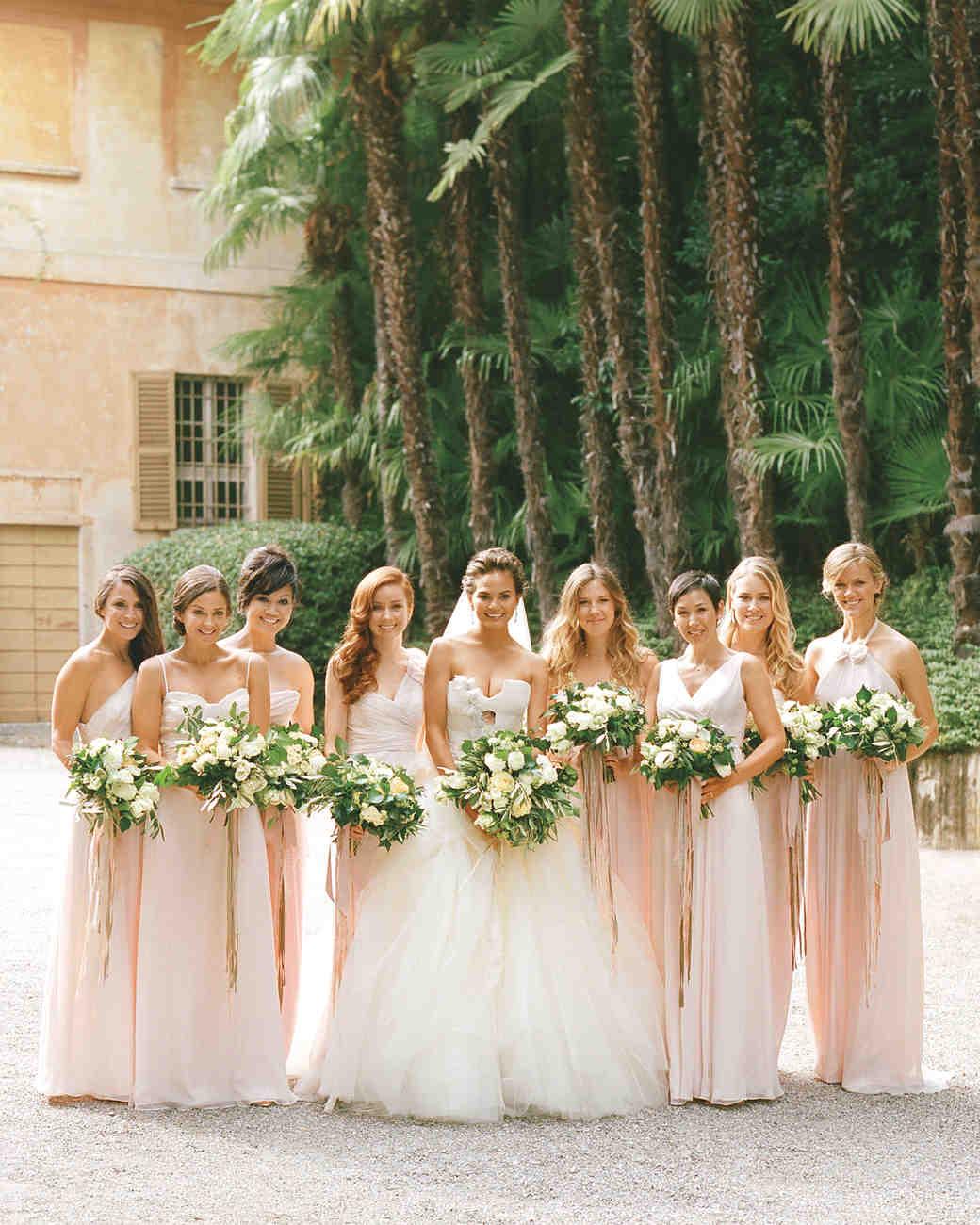 chrissy teigen and bridesmaids