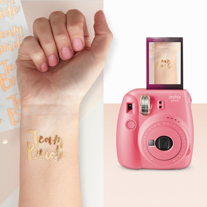 temp tattoo and camera from target