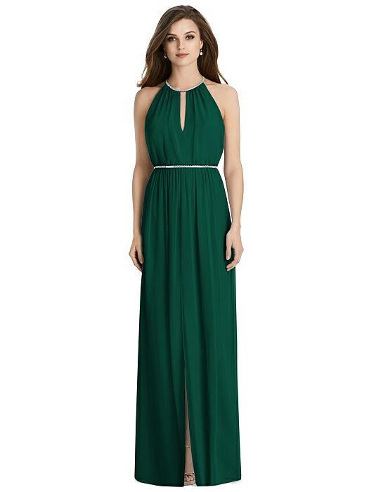 fall wedding bridesmaid dresses green