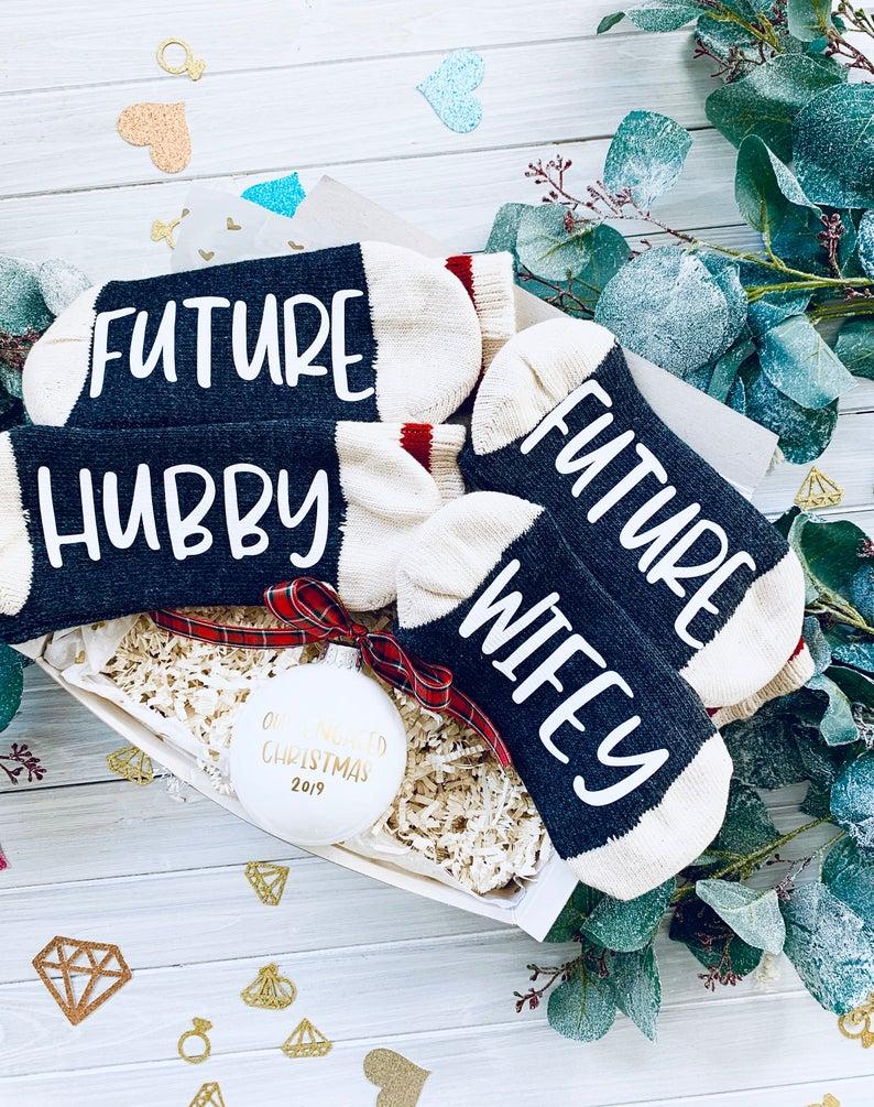 wifey and hubby socks