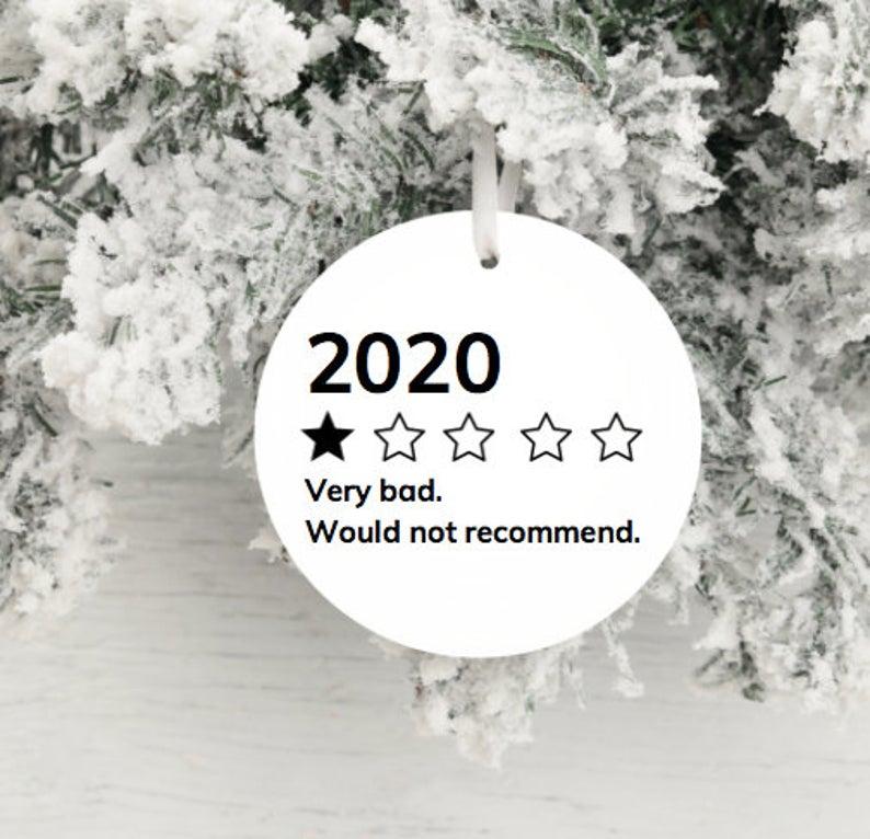 christmas ornaments 2020