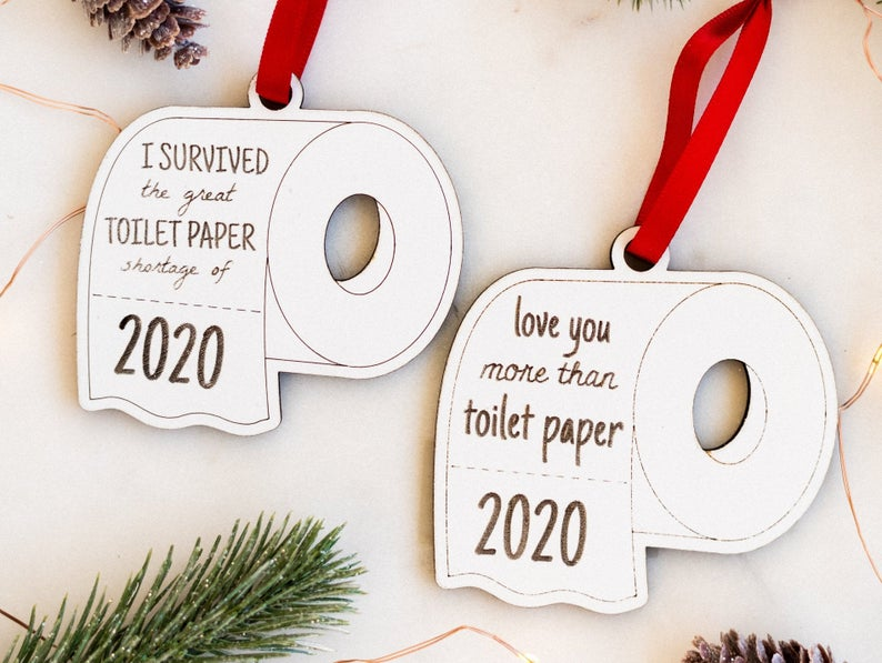 2020 Christmas ornaments Etsyq