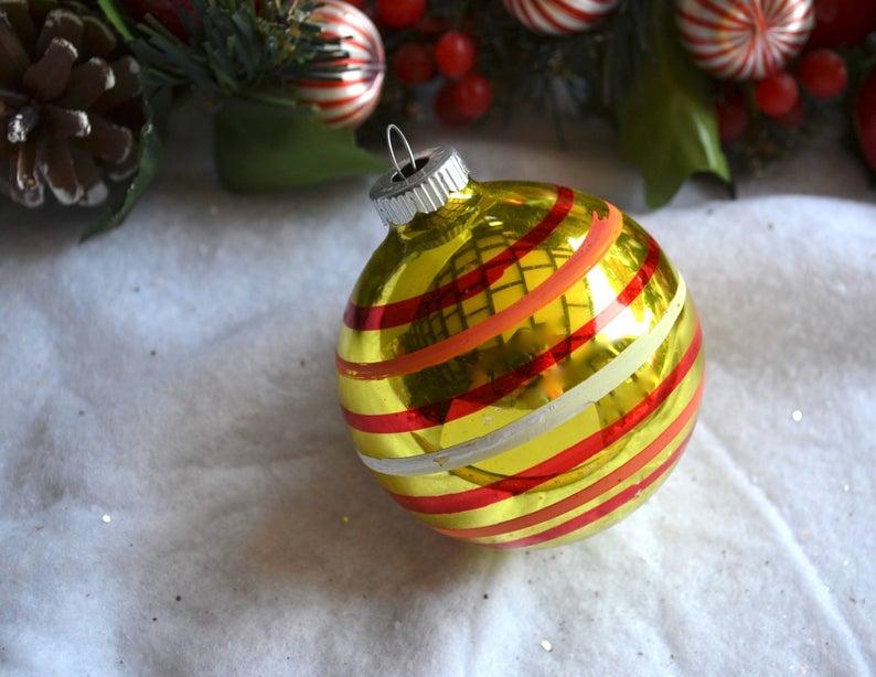 holiday ornaments etsy