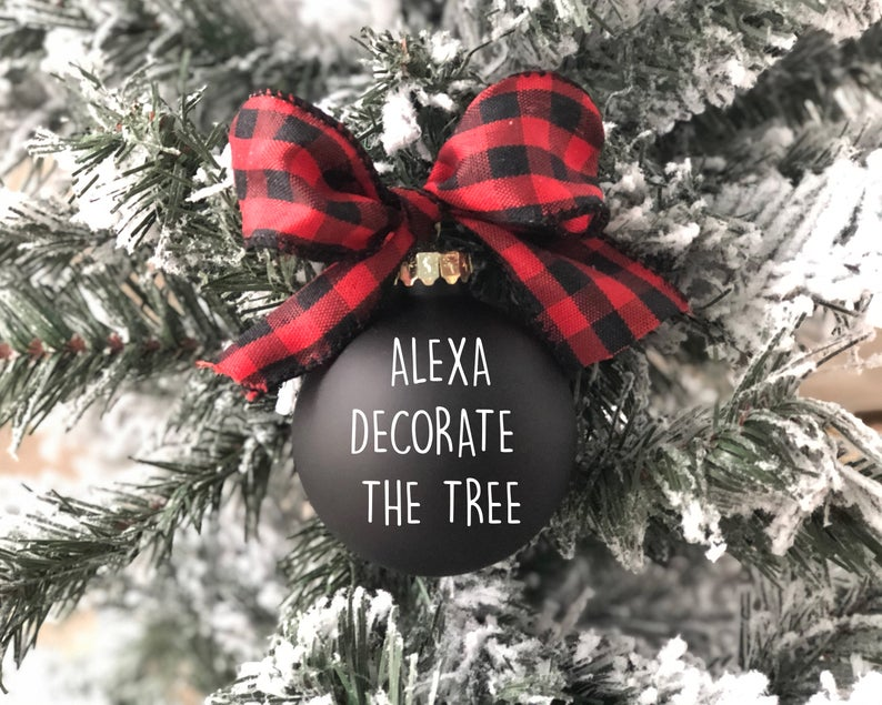 Christmas ornaments 2020 personalized