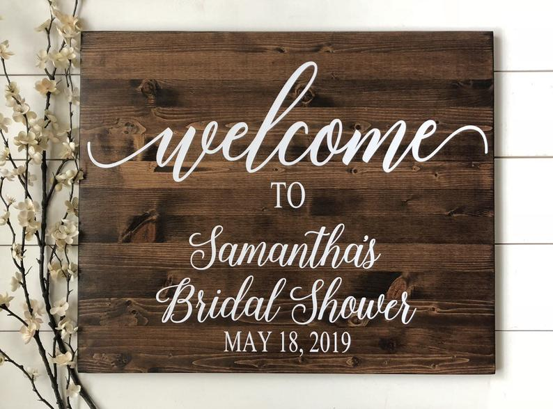 bridal shower decoration ideas etsy