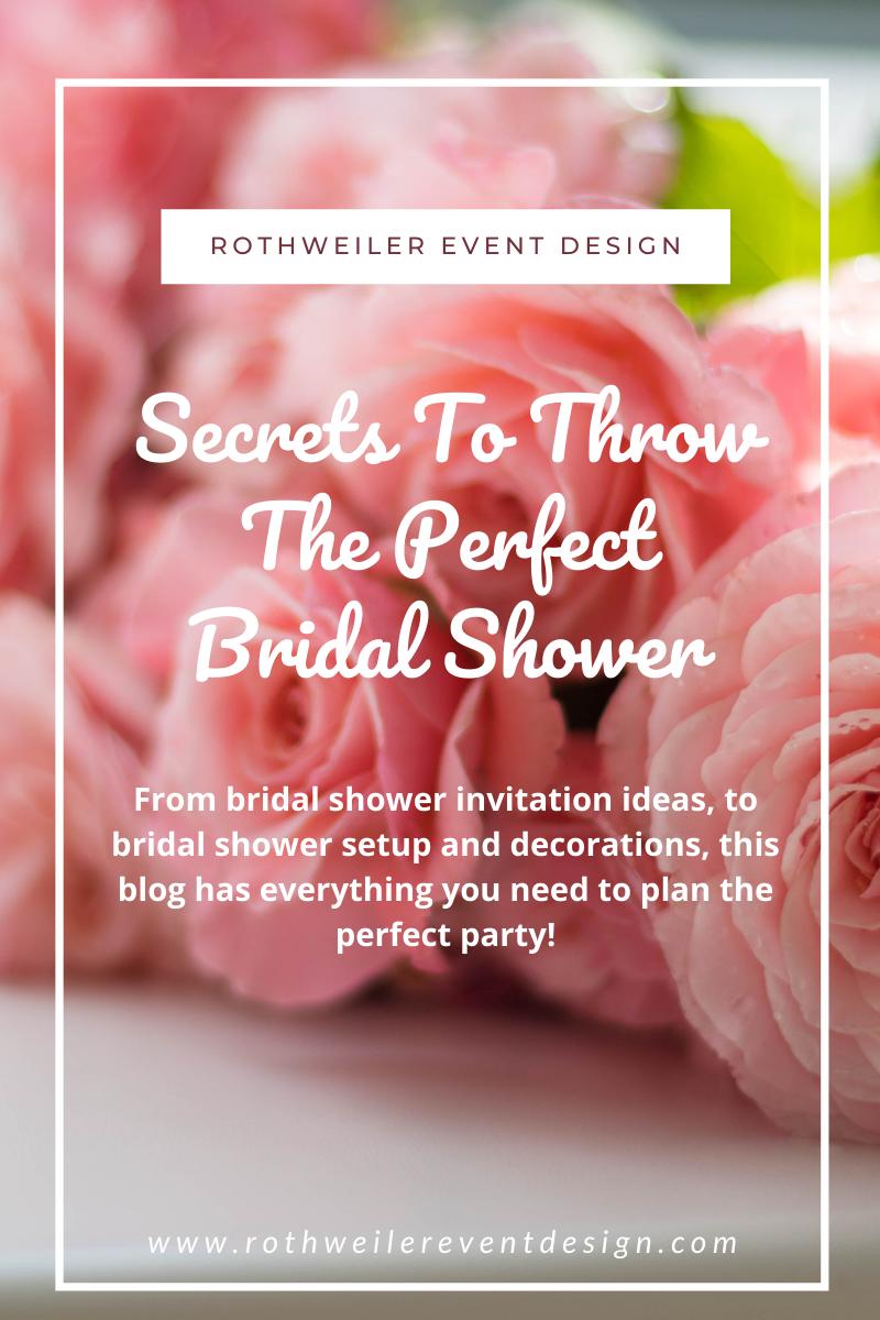 bridal shower favors
