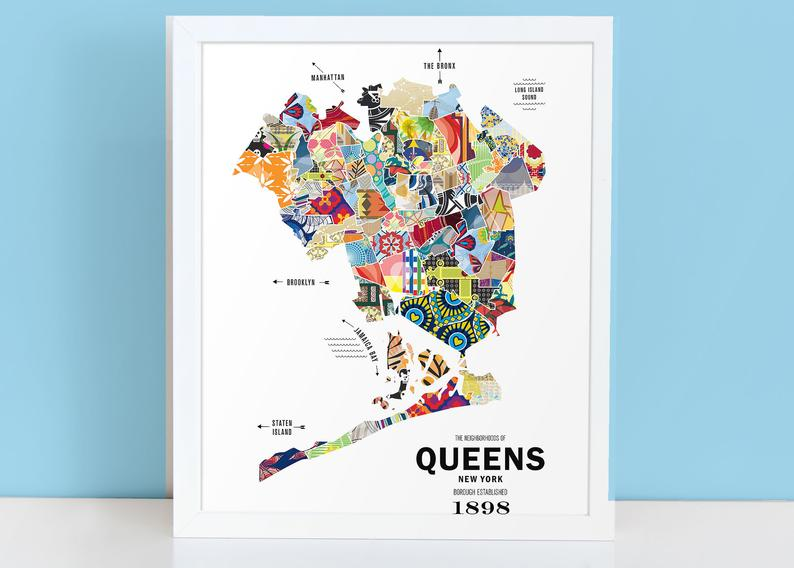 custom city map art