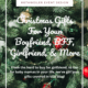 Christmas gift ideas for best friend blog