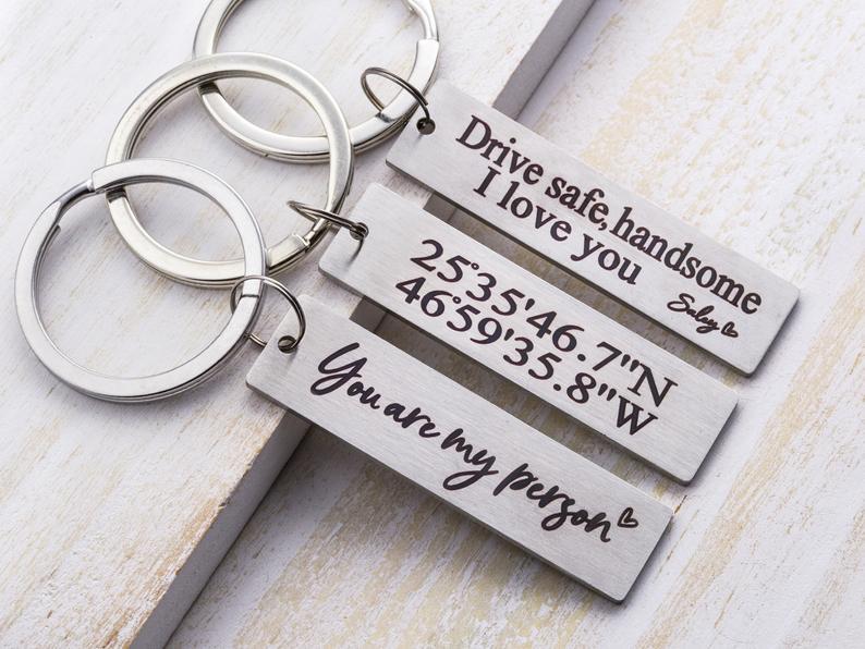 custom keychains for boyfriend