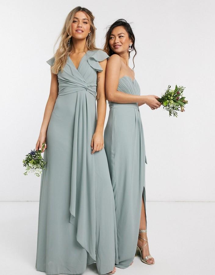 spring bridesmaid dress