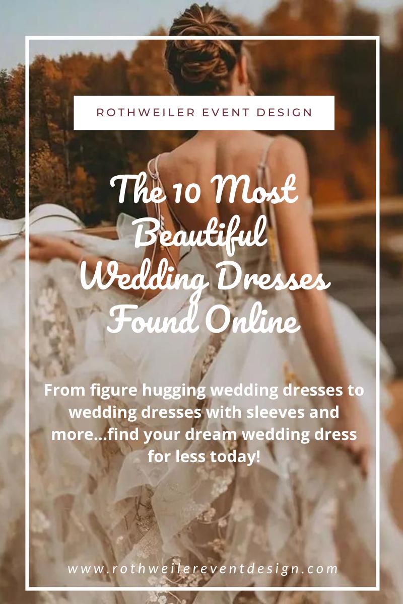 blog for the best online wedding dress store