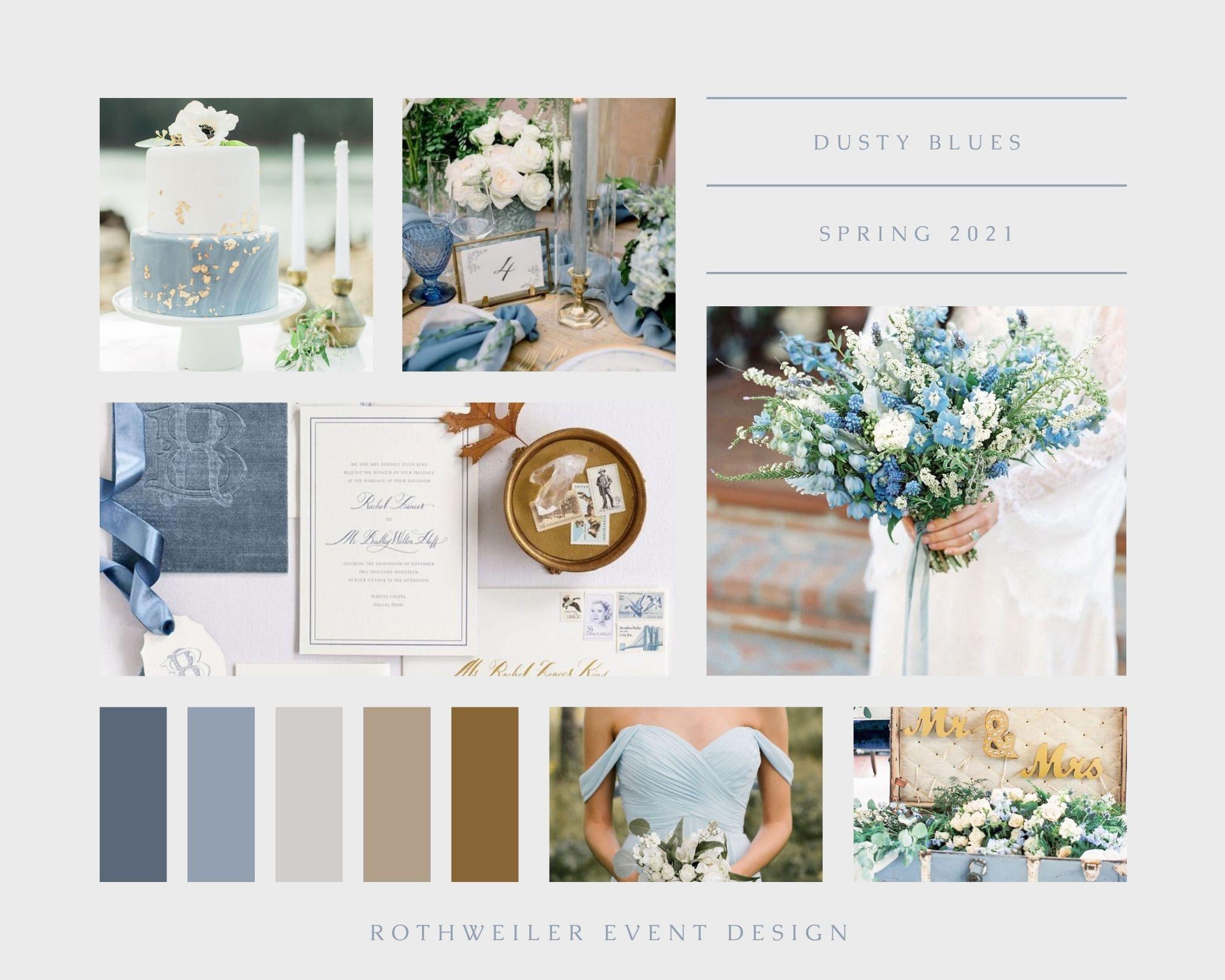 spring wedding colors 2021