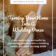 converting a barn into a wedding venue