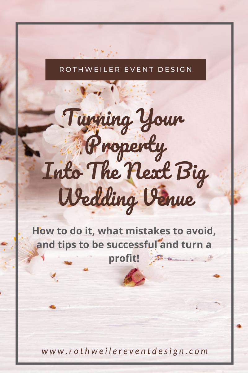 how do I start a venue business