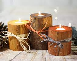 fall table decor ideas candles