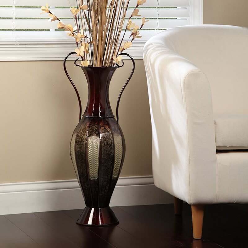 how do you decorate for fall on a budget vases