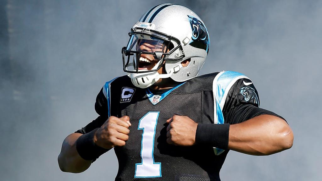 Cam Newton assinou um mega contrato com os Panthers