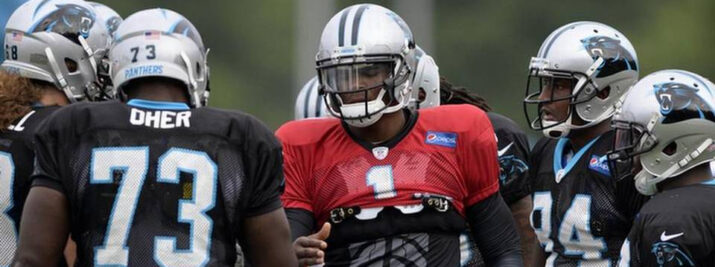 Newton entra em sua quinta temporada no comando do ataque dos Panthers