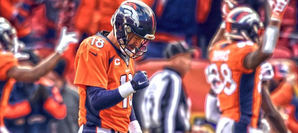 Manning virou o duelo contra Brady em playoffs e fará seu quarto Super Bowl