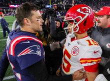 Brady Mahomes Super Bowl 55