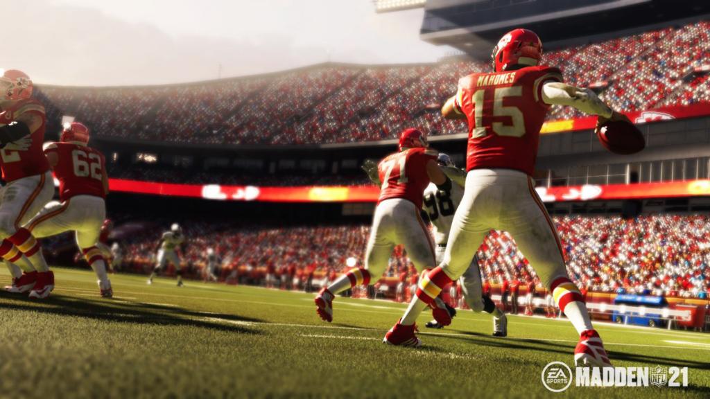Patrick Mahomes inicia o Madden NFL 21 com 99 de rating