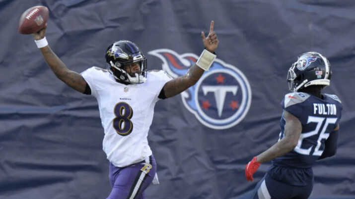 ravens-titans-wild card 2021