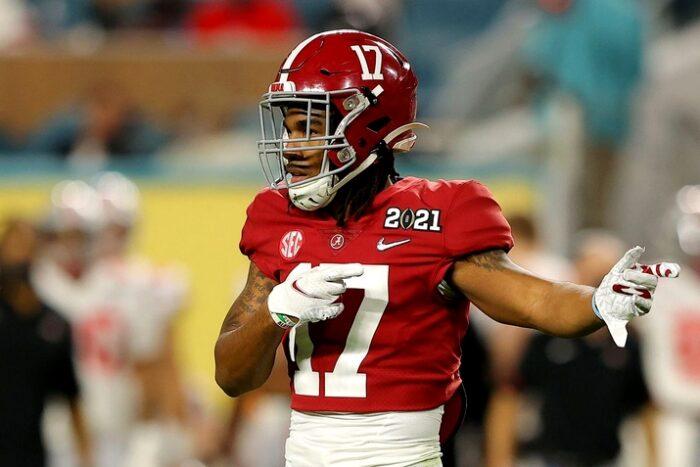 melhores wide receivers do Draft 2021