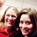Denise Martin Lisa Newman selfie