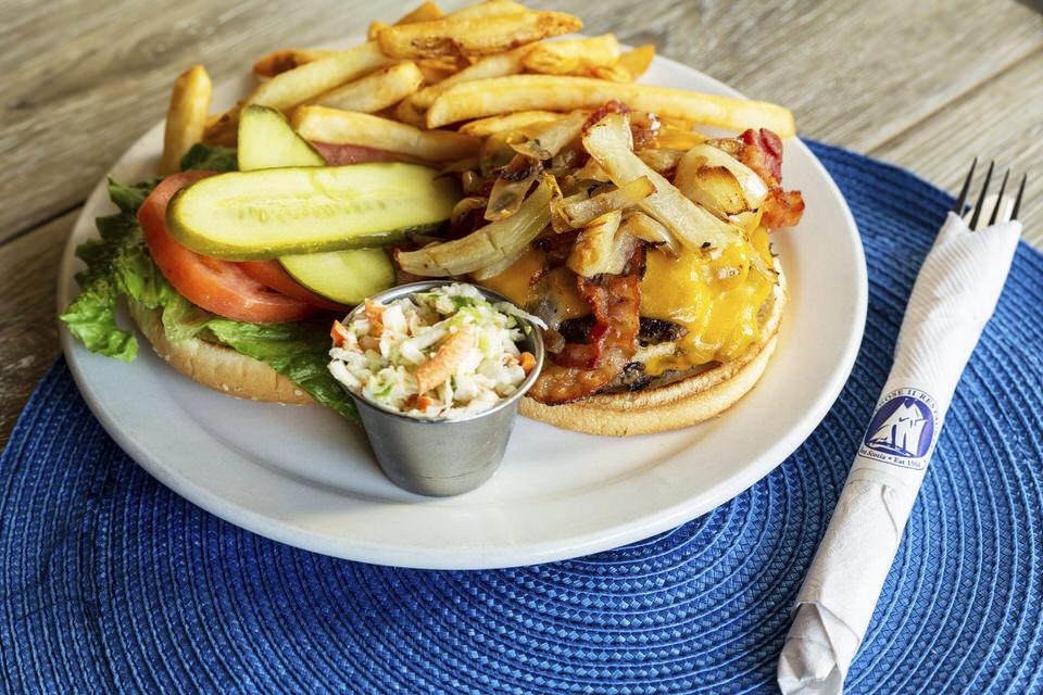 Bluenose burger