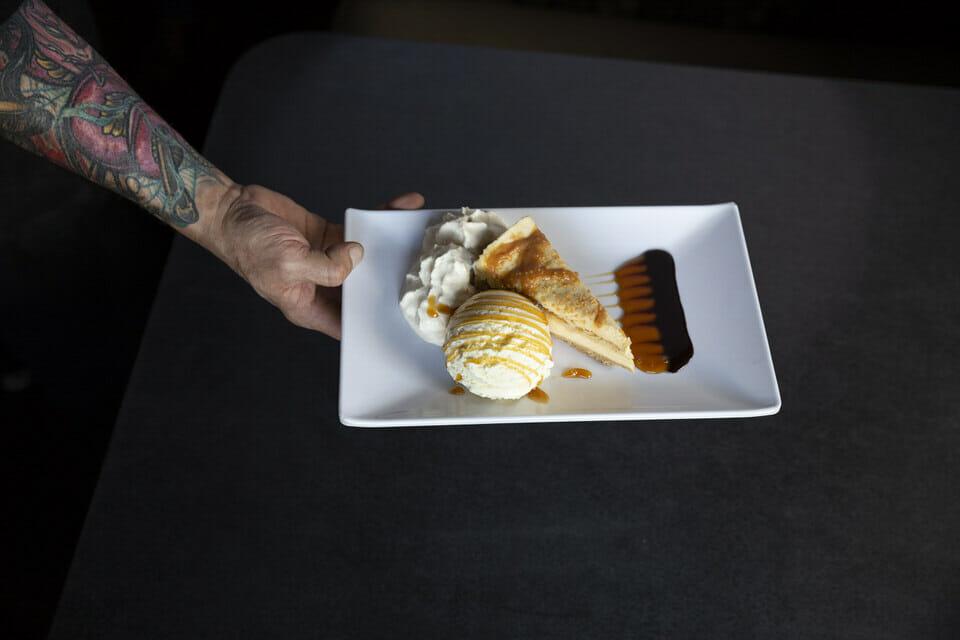 Dulce and leche dessert