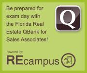 Florida Real Estate Sales Associate Exam Prep QBank - REcampus - RSVP School of Real Estate